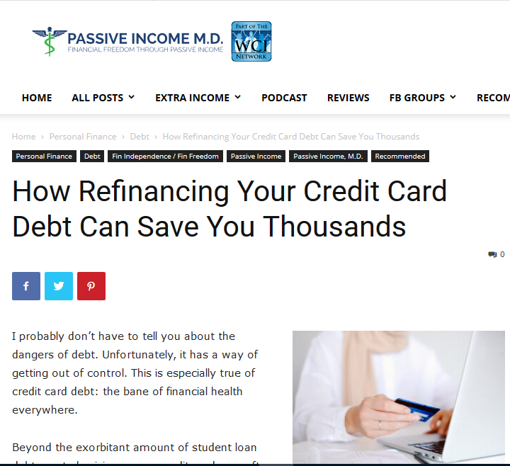 Credit Card Debt Consolidation Strategies for Doctors