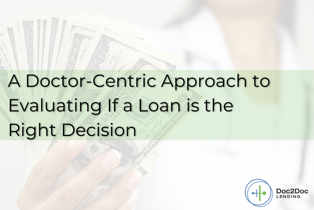 How to Identify the Best Personal Loans for Physicians